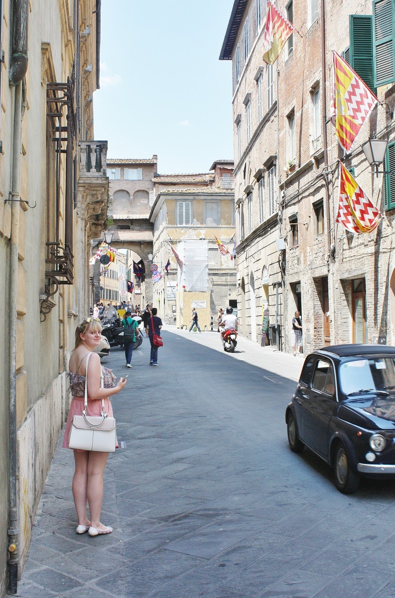 Emma Victoria Stokes Siena Streets