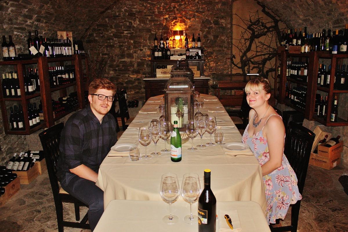 Emma Victoria Stokes Una Palazzo Mannaioni Wine Tasting