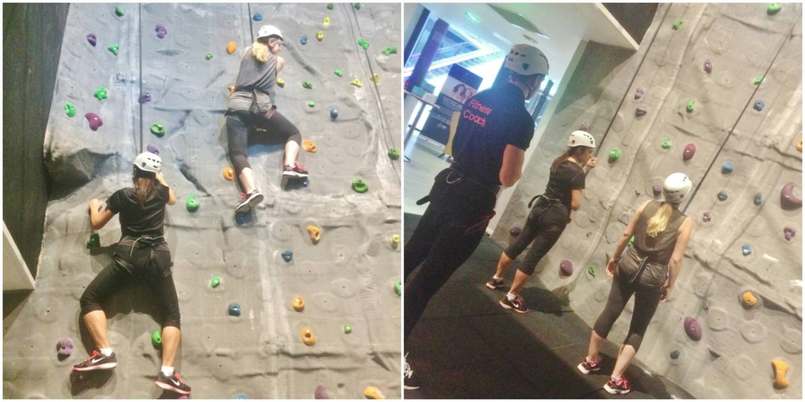 The Club & Spa at The Cube Birmingham Rock Climbing