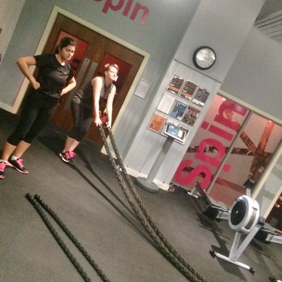 The Club & Spa at The Cube Birmingham Battle Ropes
