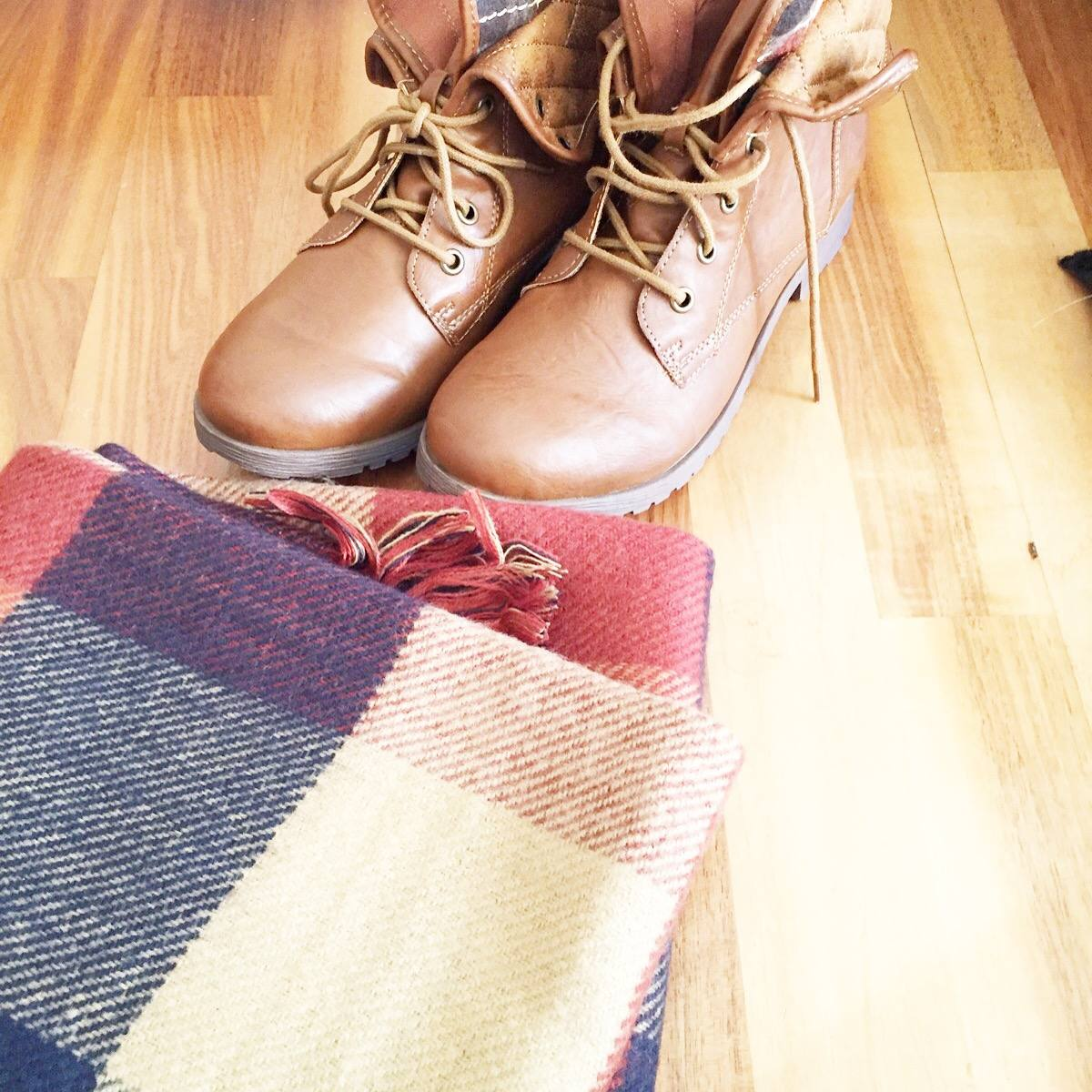 Winterbootsandscarf
