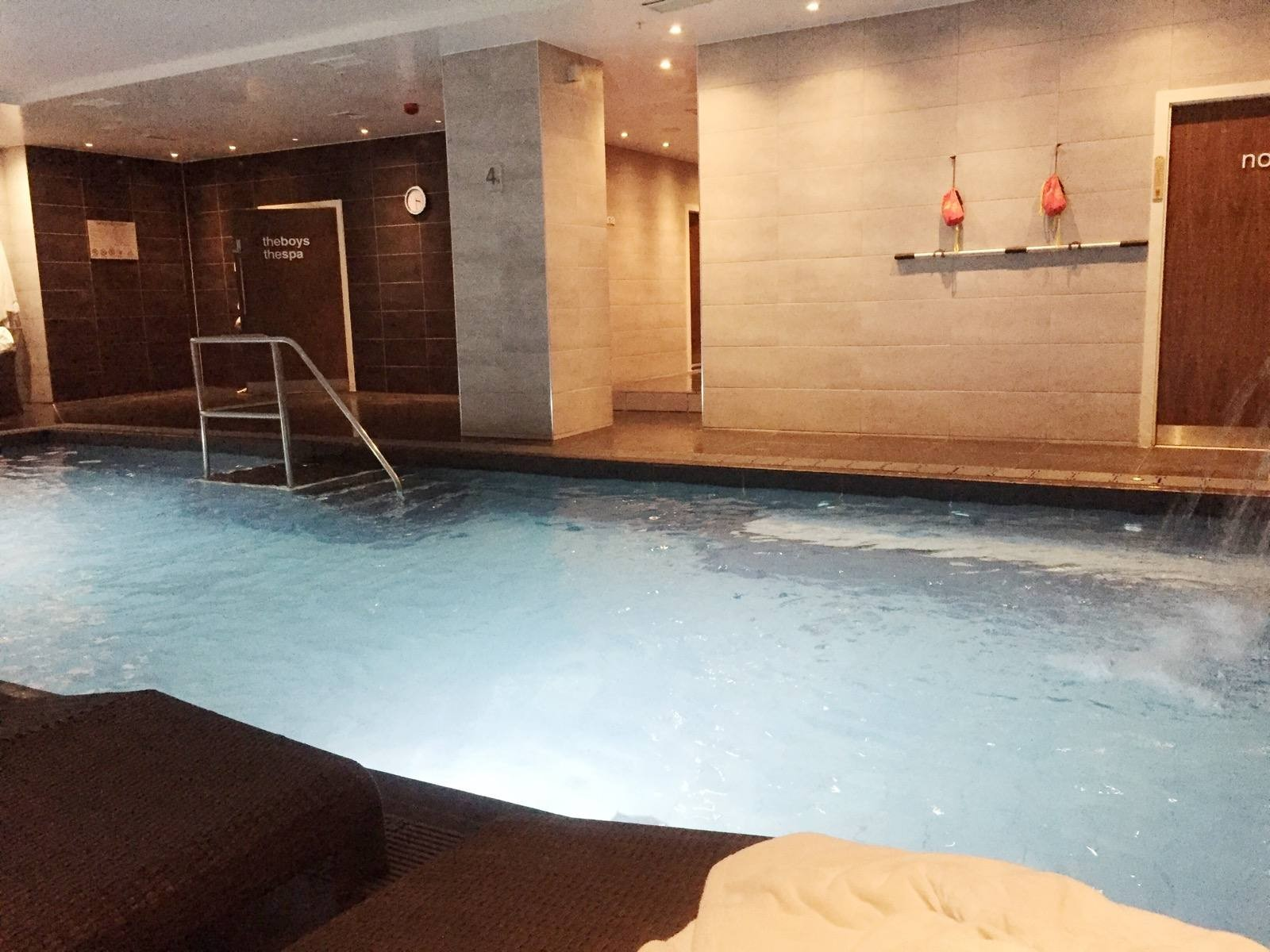 The Club & Spa at The Cube Birmingham Swimming Pool