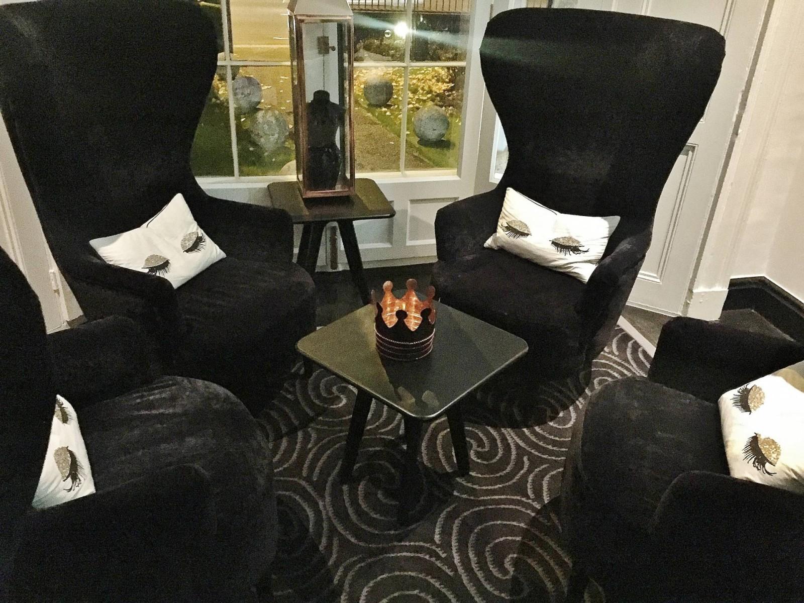 Emma Victoria Stokes Praza By Pushkar Velvet Chairs