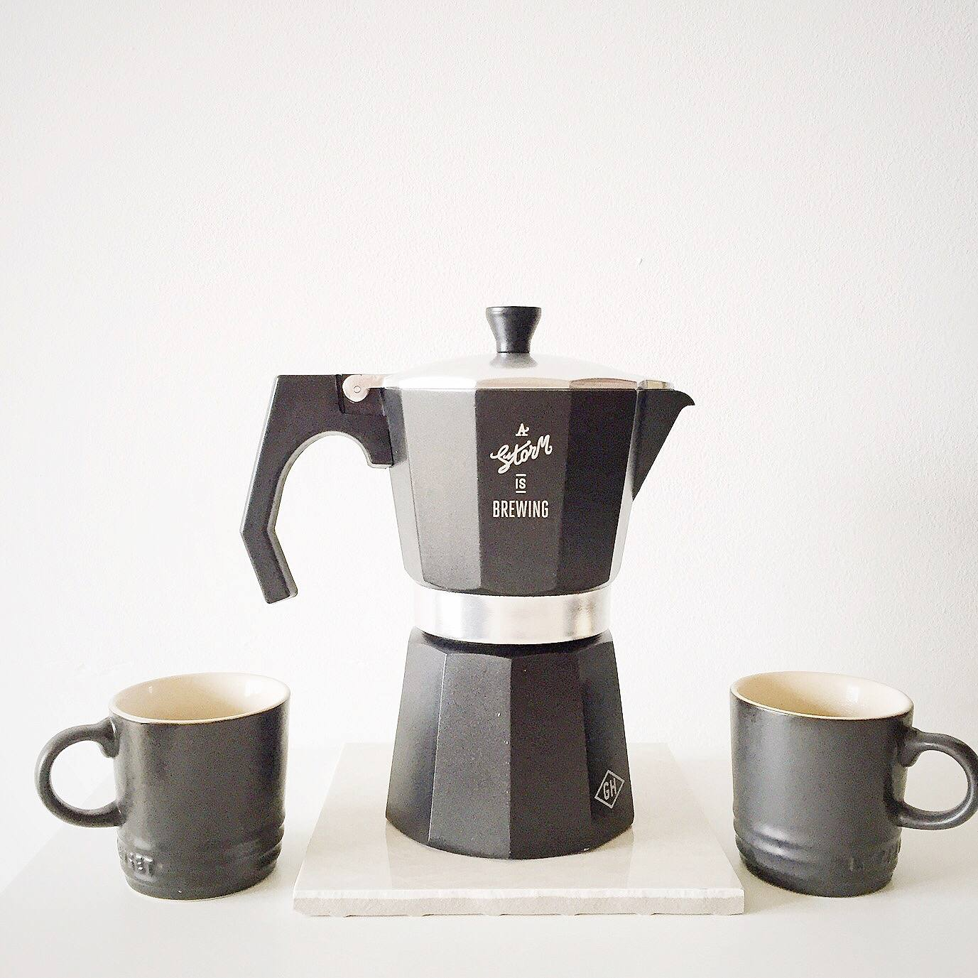 Stove top coffee espresso maker