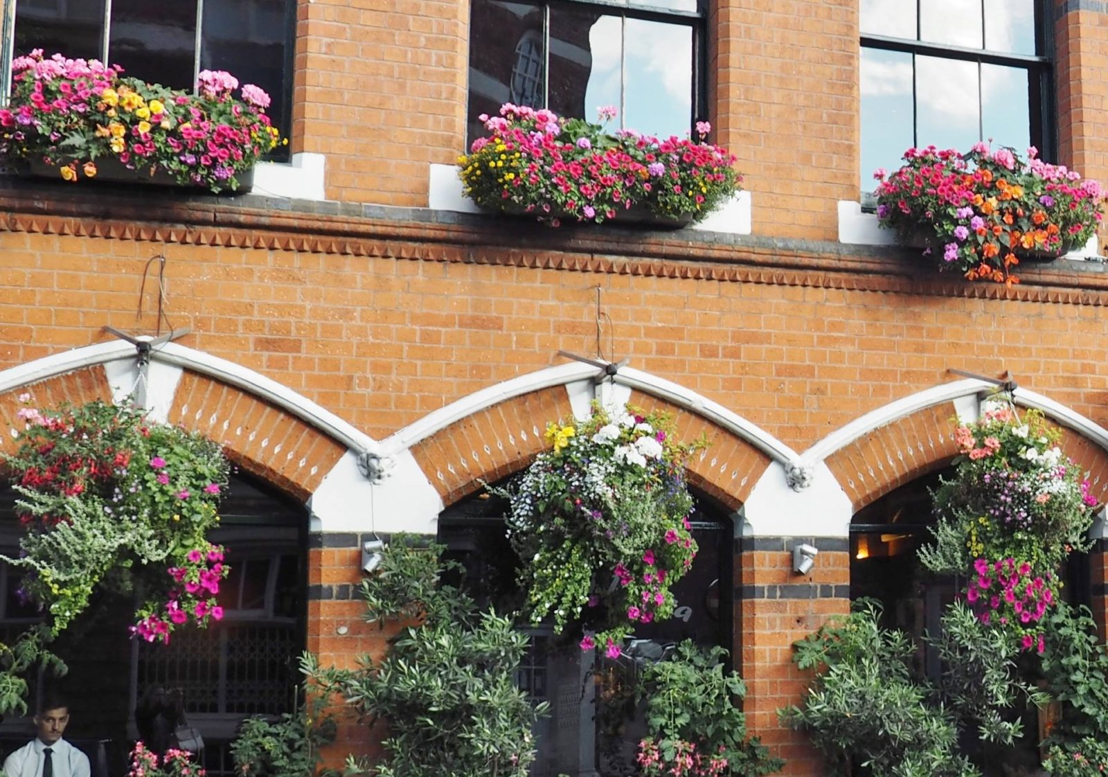 Pasta Di Piazza Building Plants and Flowers