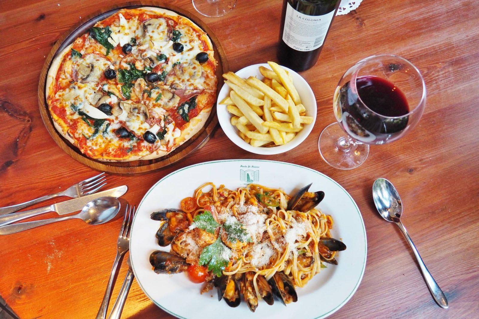 Pasta Di Piazza Main Meals Pizza and Pasta