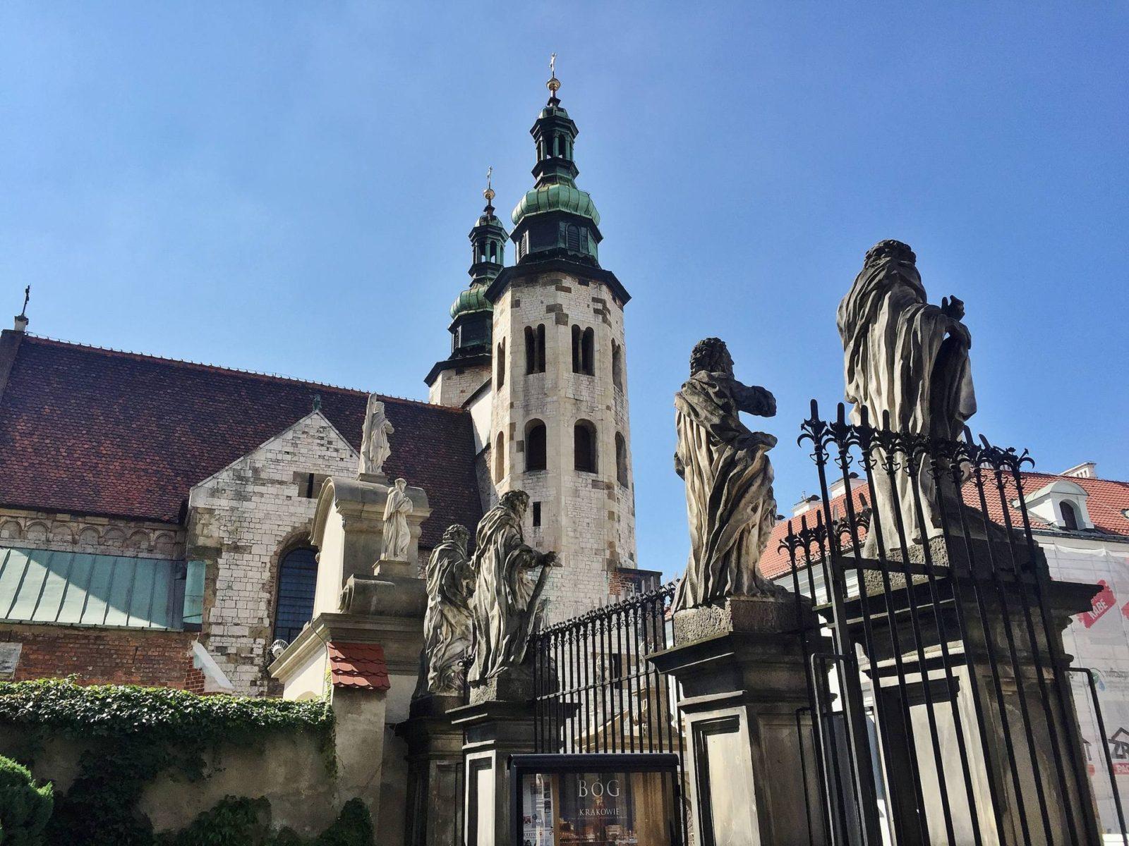 Emma Victoria Stokes Krakow Old Town Church