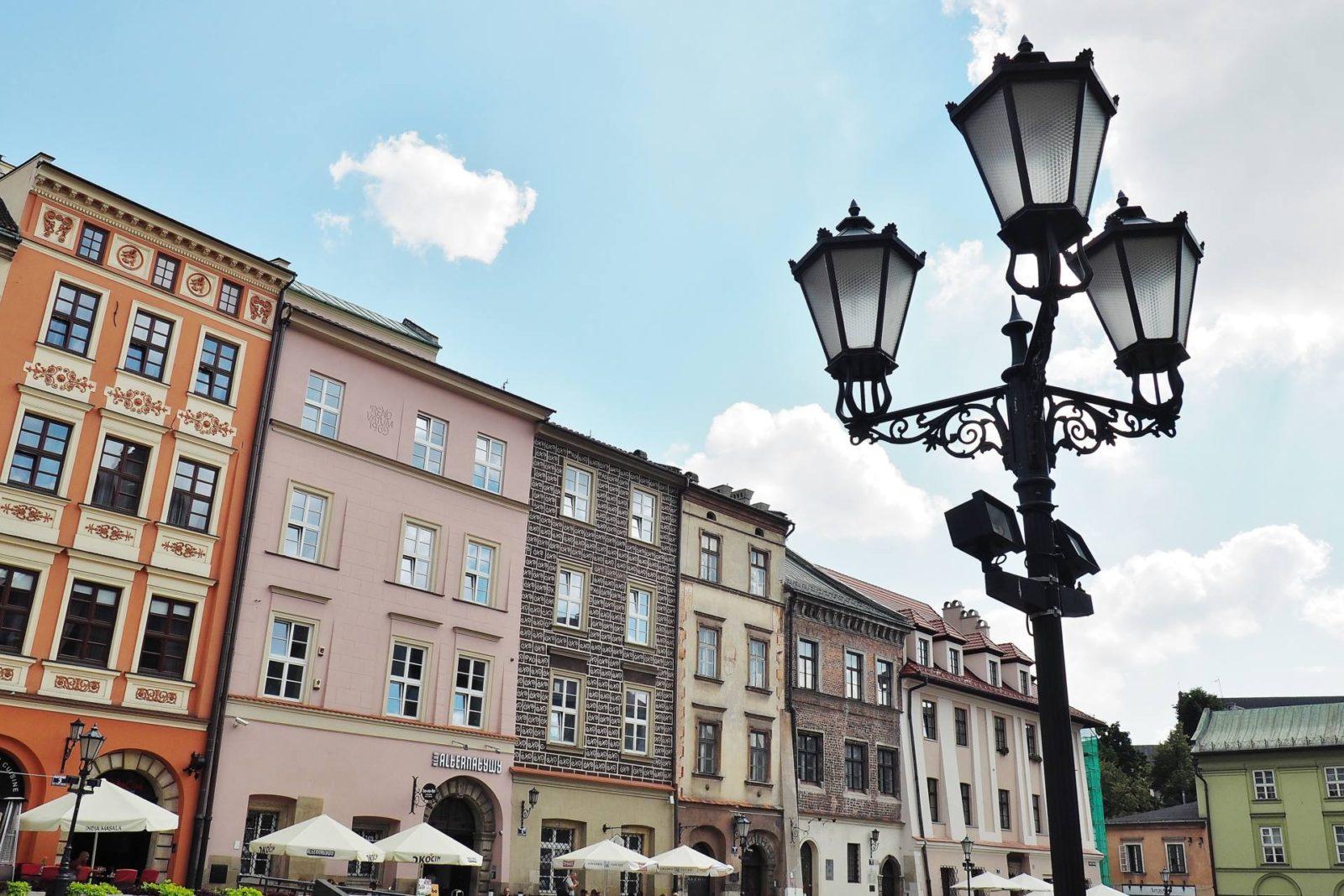 Emma Victoria Stokes Krakow Old Town Street Lamps