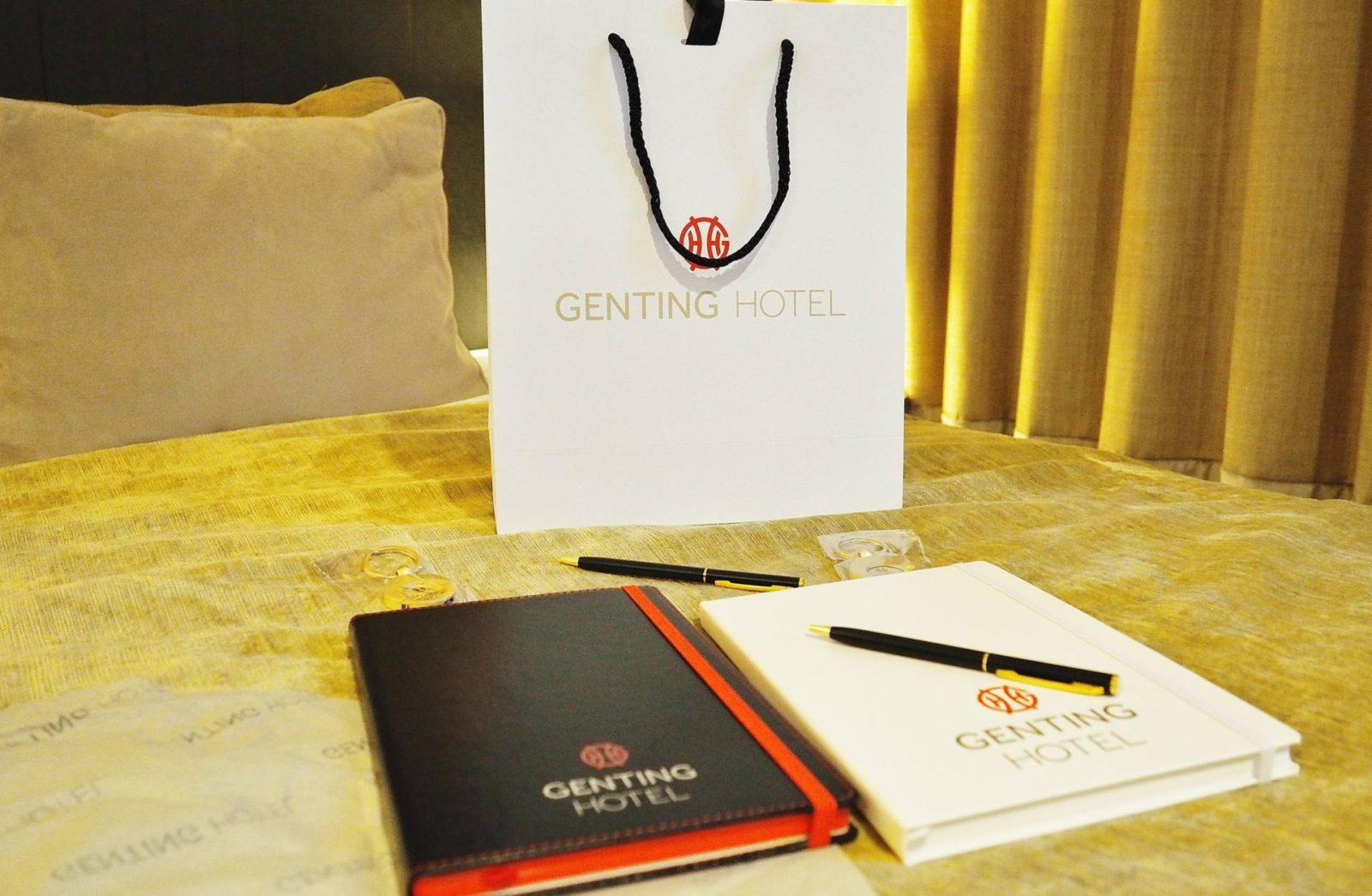 Genting Hotel Welcome Bag