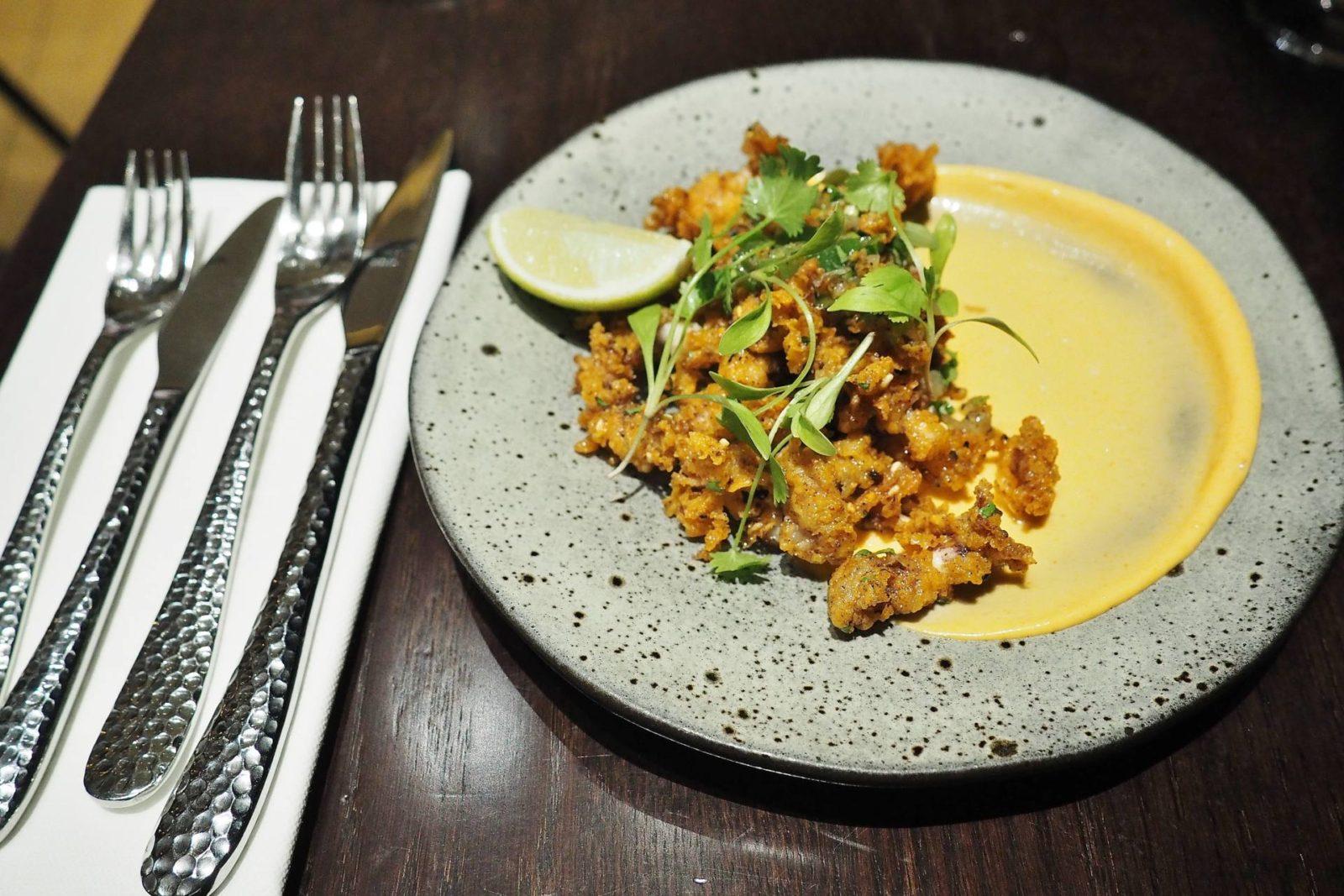 Robata Crushed Squid