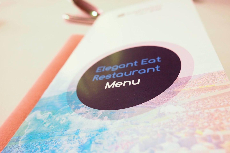 Emma Victoria Stokes Elegant Eat Fine Dining Edgbaston Cricket Ground Menu