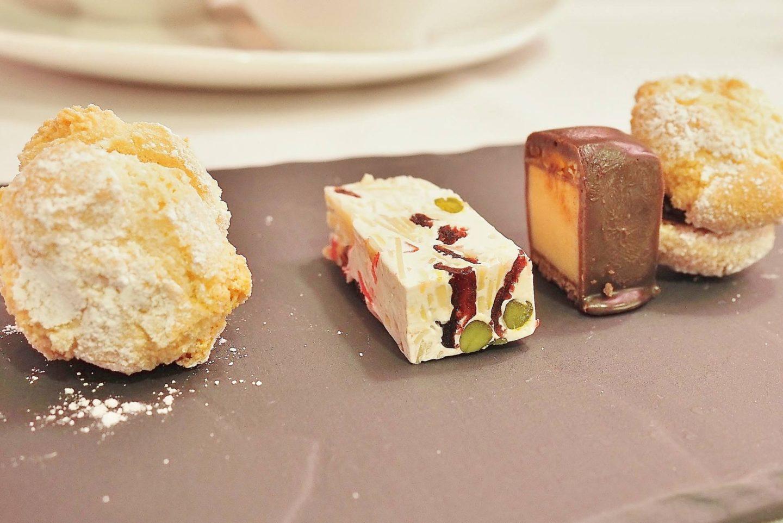 Emma Victoria Stokes Elegant Eat Fine Dining Edgbaston Cricket Ground Petit Fours