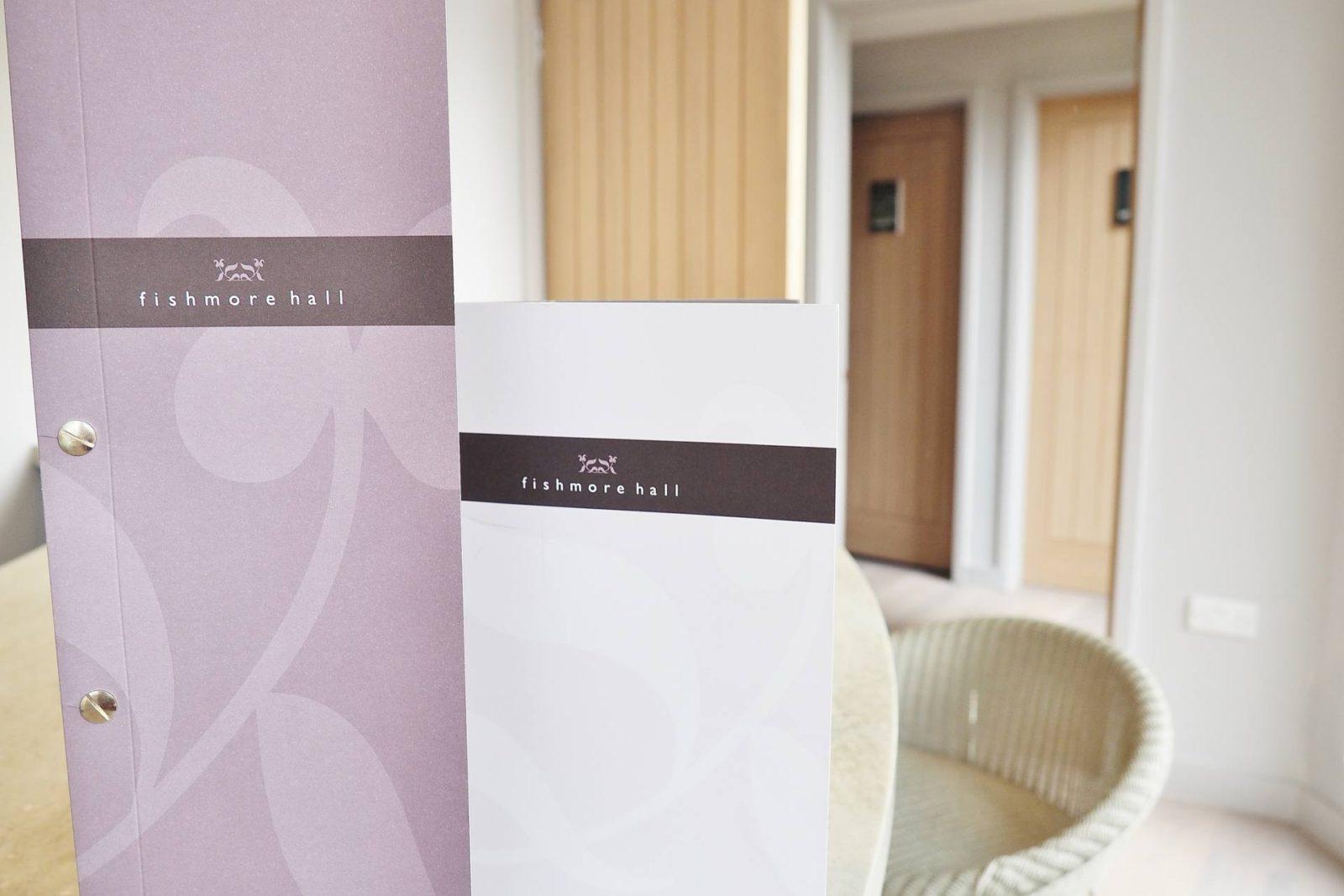 Emma Victoria Stokes Fishmore Hall Ludlow Hotel Menu
