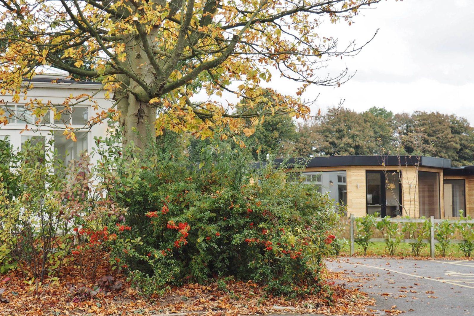 Emma Victoria Stokes Fishmore Hall Ludlow Spashell Outdoor Cabin