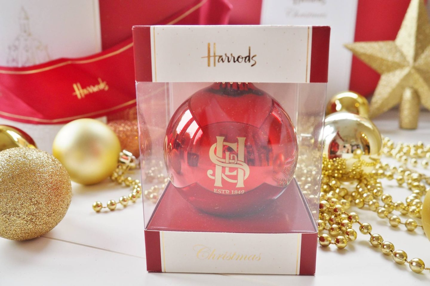 Harrods Christmas Hamper Box - A Christmas Carol Collaboration ...