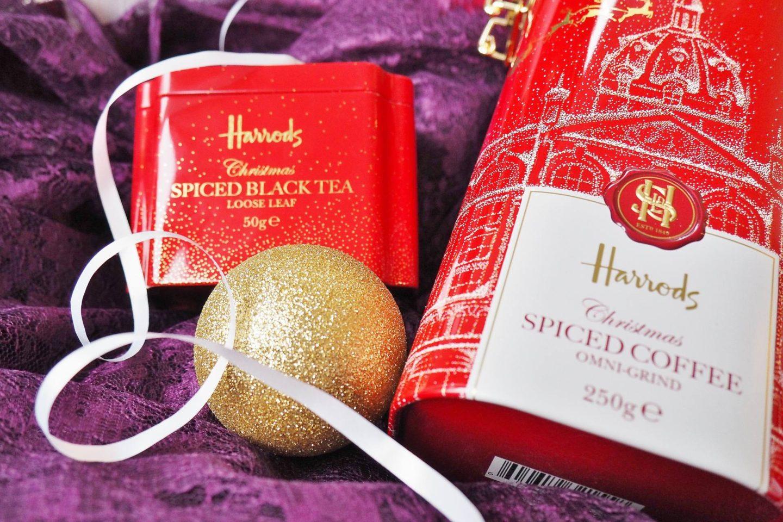 Emma Victoria Stokes Harrods Christmas Hamper Box Blog Review Tea