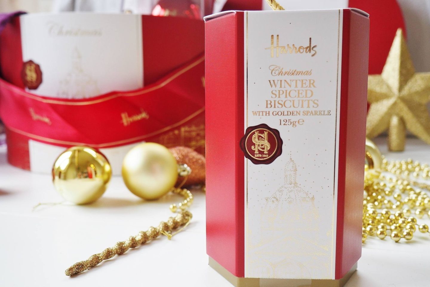 Emma Victoria Stokes Harrods Christmas Hamper Box Blog Review