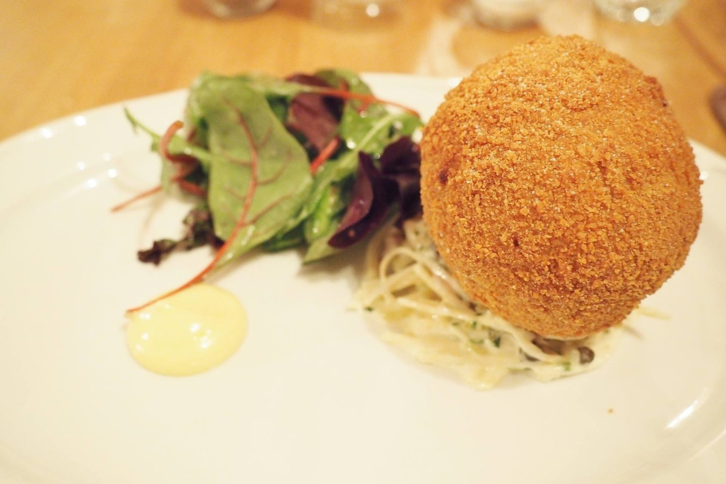 The Fat Fox Inn Watlington Blogger Review Scotch Egg