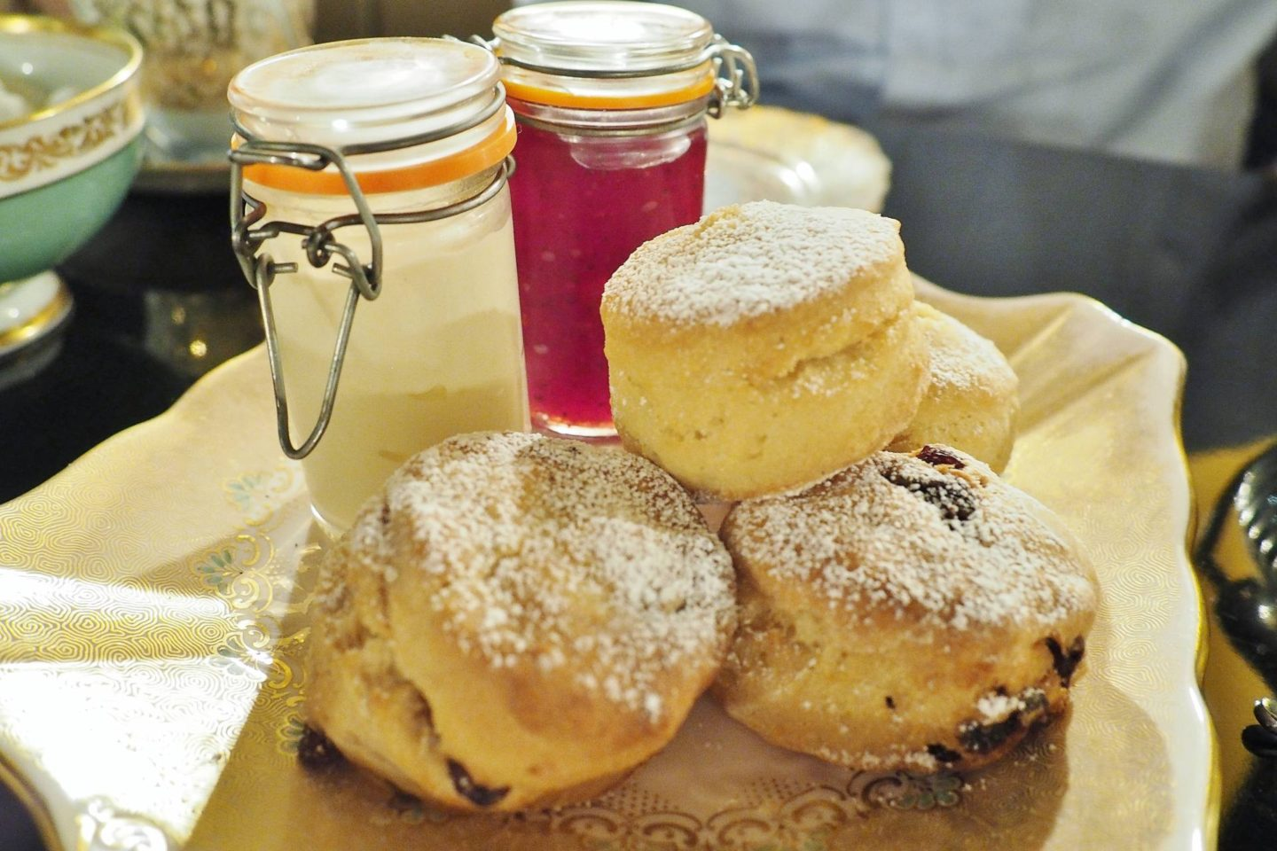 Emma Victoria Stokes Edgbaston Boutique Hotel Afternoon Tea Winter Scones Jam Cream