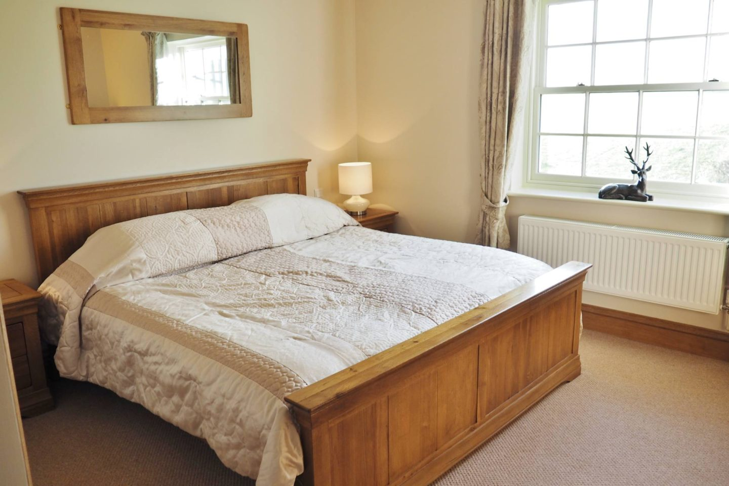 Emma Victoria Stokes Blogger Review Ox Pasture Hall Scarborough Seating Area Luxury Suite Bedroom