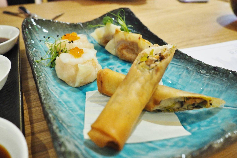 Emma Victoria Stokes Taste of Rofuto Dim Sum Platter