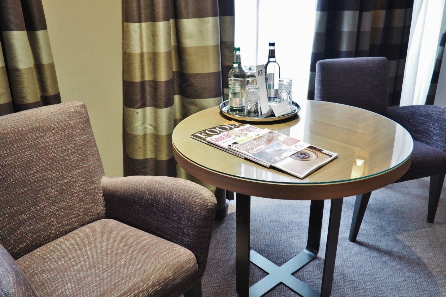 Emma Victoria Stokes Macdonald Windsor Hotel Executive Suite Blogger Review Bedroom