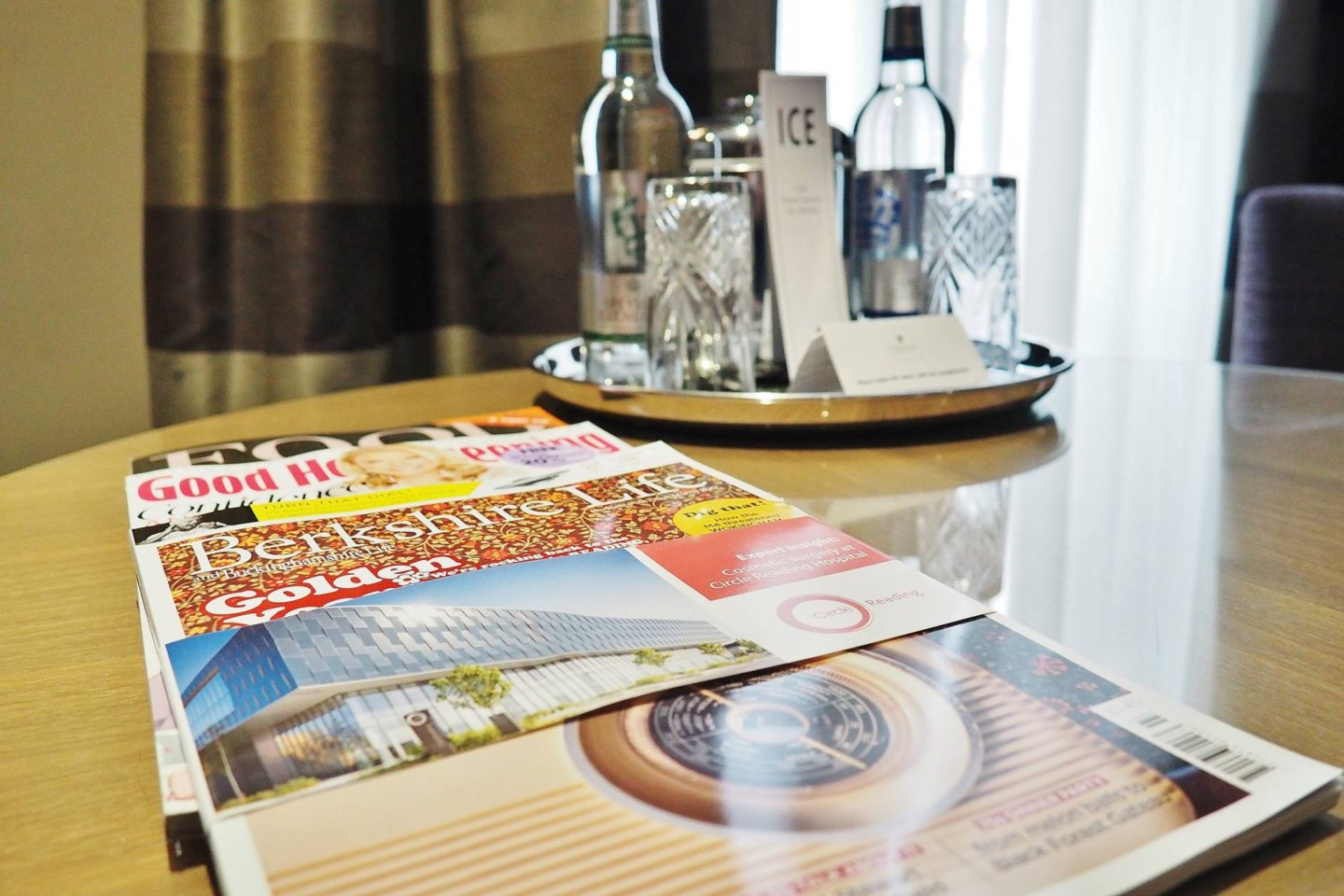 Emma Victoria Stokes Macdonald Windsor Hotel Executive Suite Blogger Review Magazines Water