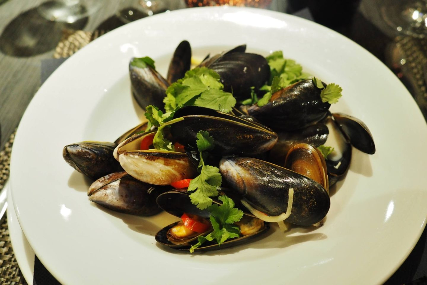 Emma Victoria Stokes Macdonald Windsor Hotel Executive Suite Blogger Review Mussels