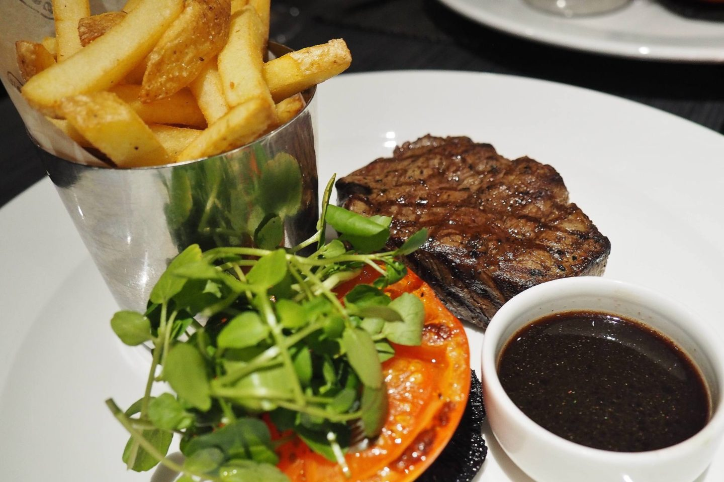 Emma Victoria Stokes Macdonald Windsor Hotel Executive Suite Blogger Review Rump Steaks