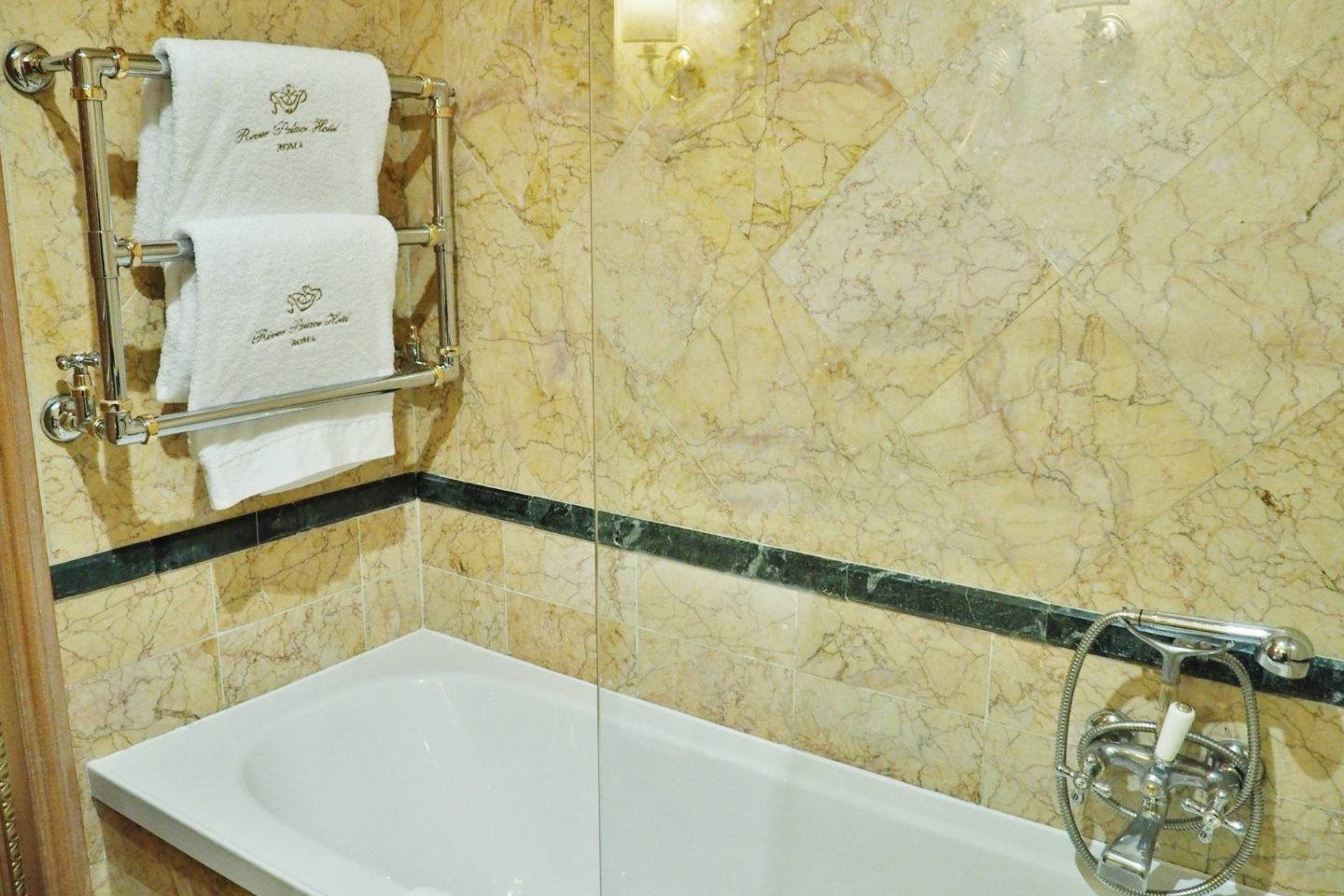 Emma Victoria Stokes River Palace Hotel Rome Double Room Bath