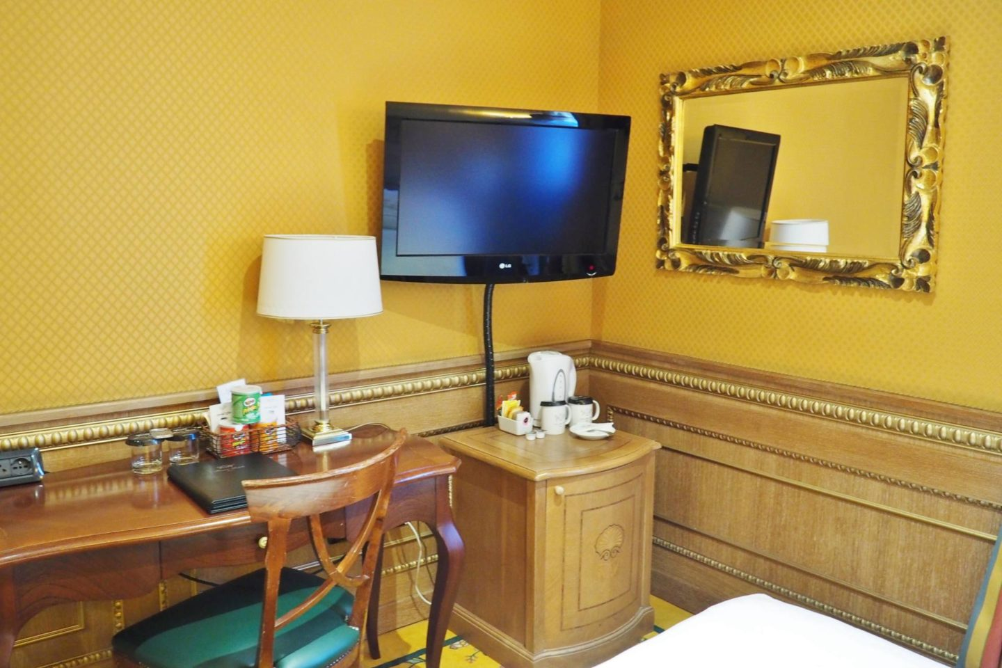 Emma Victoria Stokes River Palace Hotel Rome Double Room