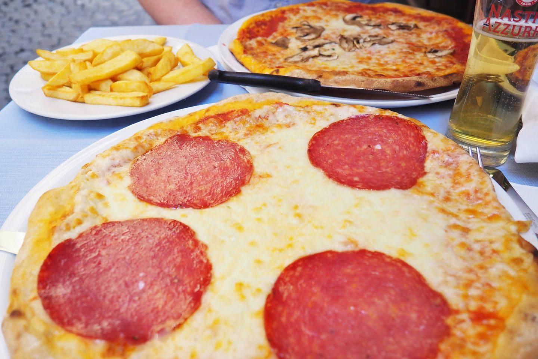 Emma Victoria Stokes Rome Blog Post Food Pizza