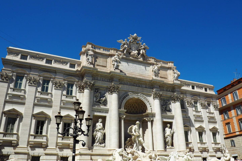 Emma Victoria Stokes Rome Trip Trevi Fountain
