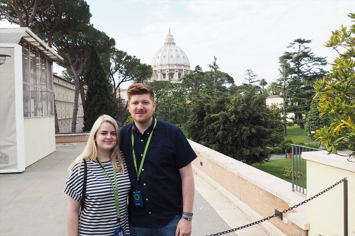Emma Victoria Stokes The Roman Guy St Peters Basilica Vatican City