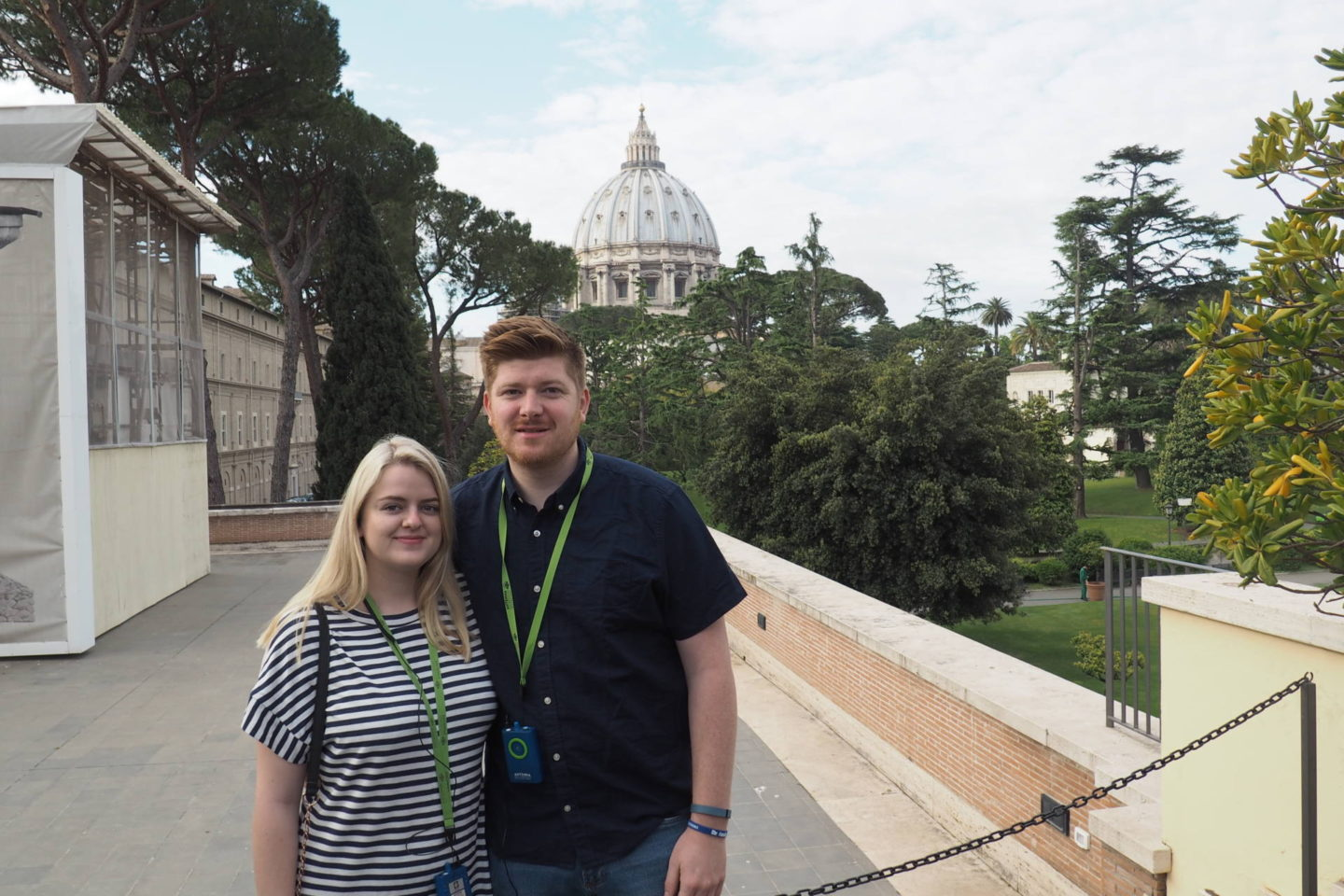 Emma Victoria Stokes The Roman Guy Italy Rome Tour St Peters Basilica Museum