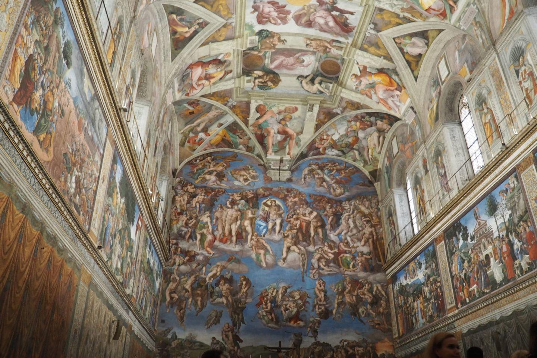 Emma Victoria Stokes The Roman Guy Tour Sistine Chapel