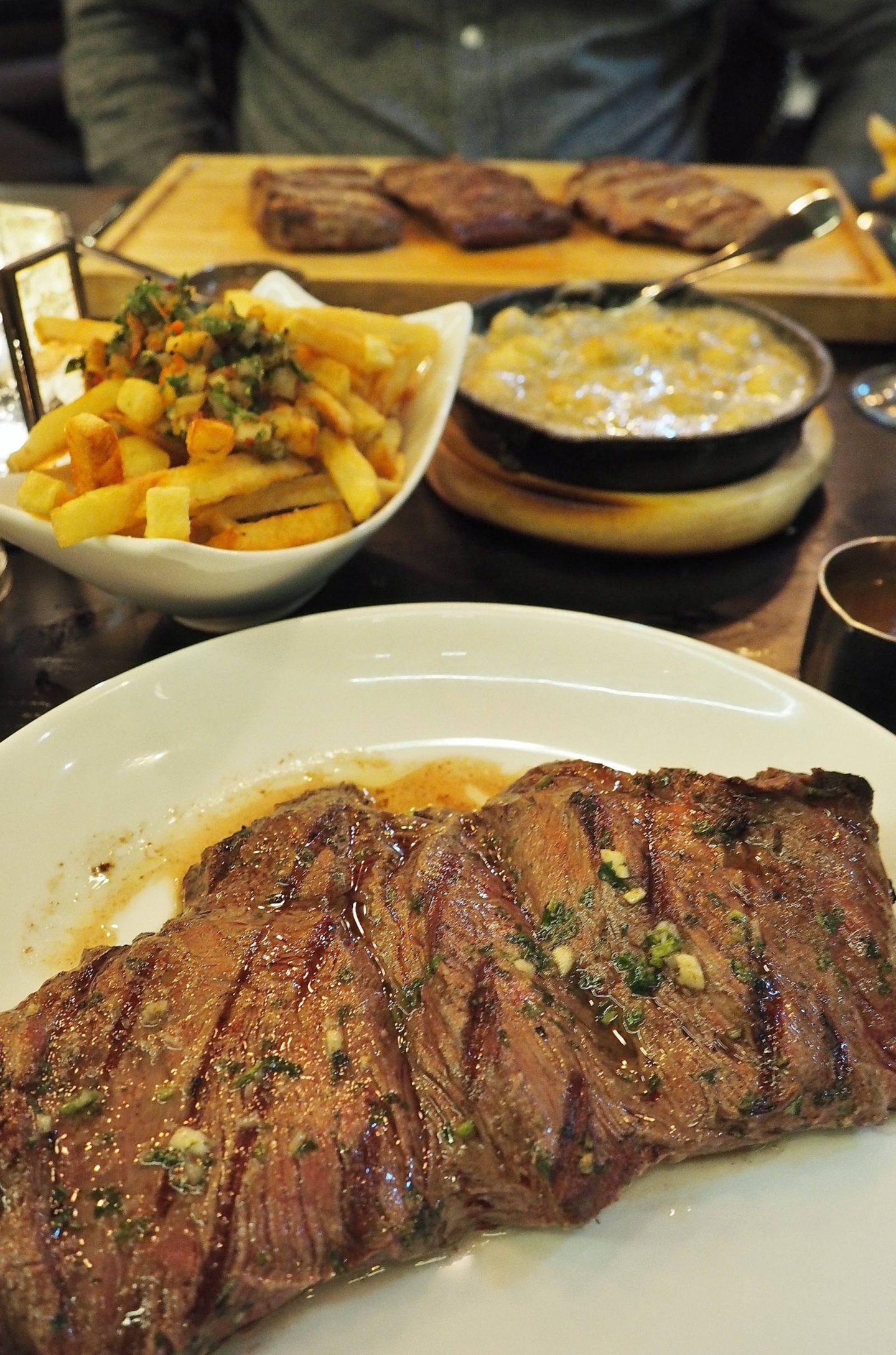 Emma Victoria Stokes Gaucho Birmingham Argentinian Steak Restaurant Churrasco De Lomo Chorizo Steak