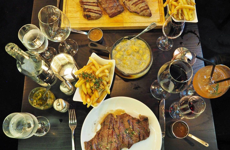 Emma Victoria Stokes Food Blogger Gaucho Birmingham Restaurant Review Flatlay