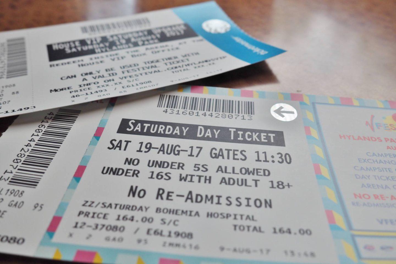 Emma Victoria Stokes V Festival Debenhams 2017 VIP Tickets