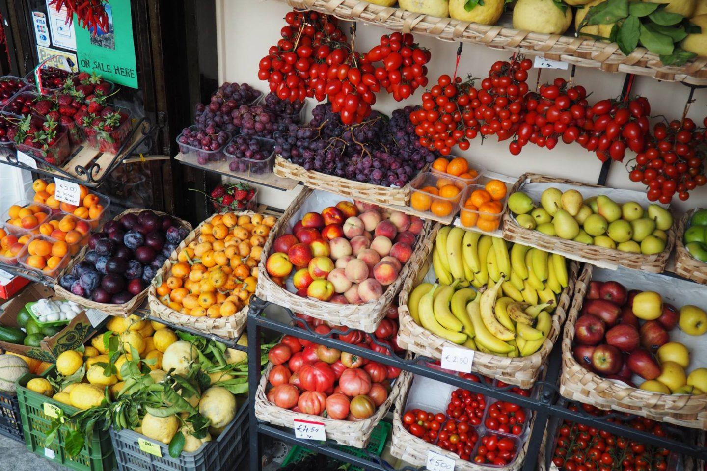 Emma Victoria Stokes Positano Fruit Stall