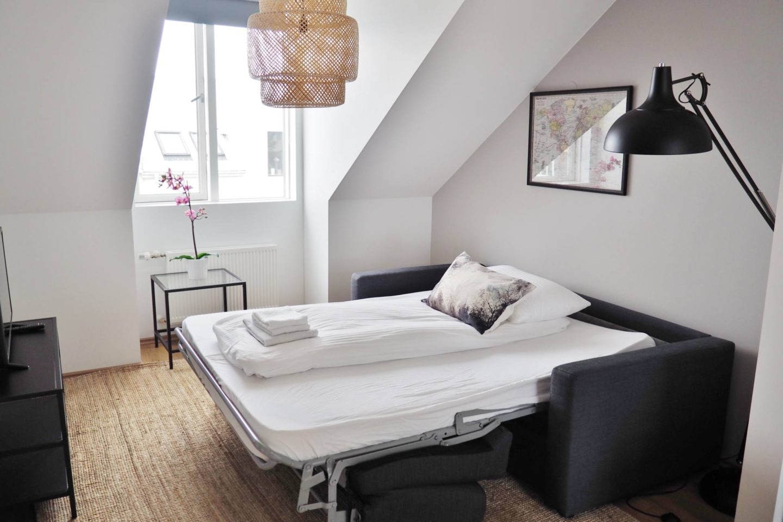 Emma Victoria Stokes Reykjavik Iceland Thomsen Residence Apartments Airbnb