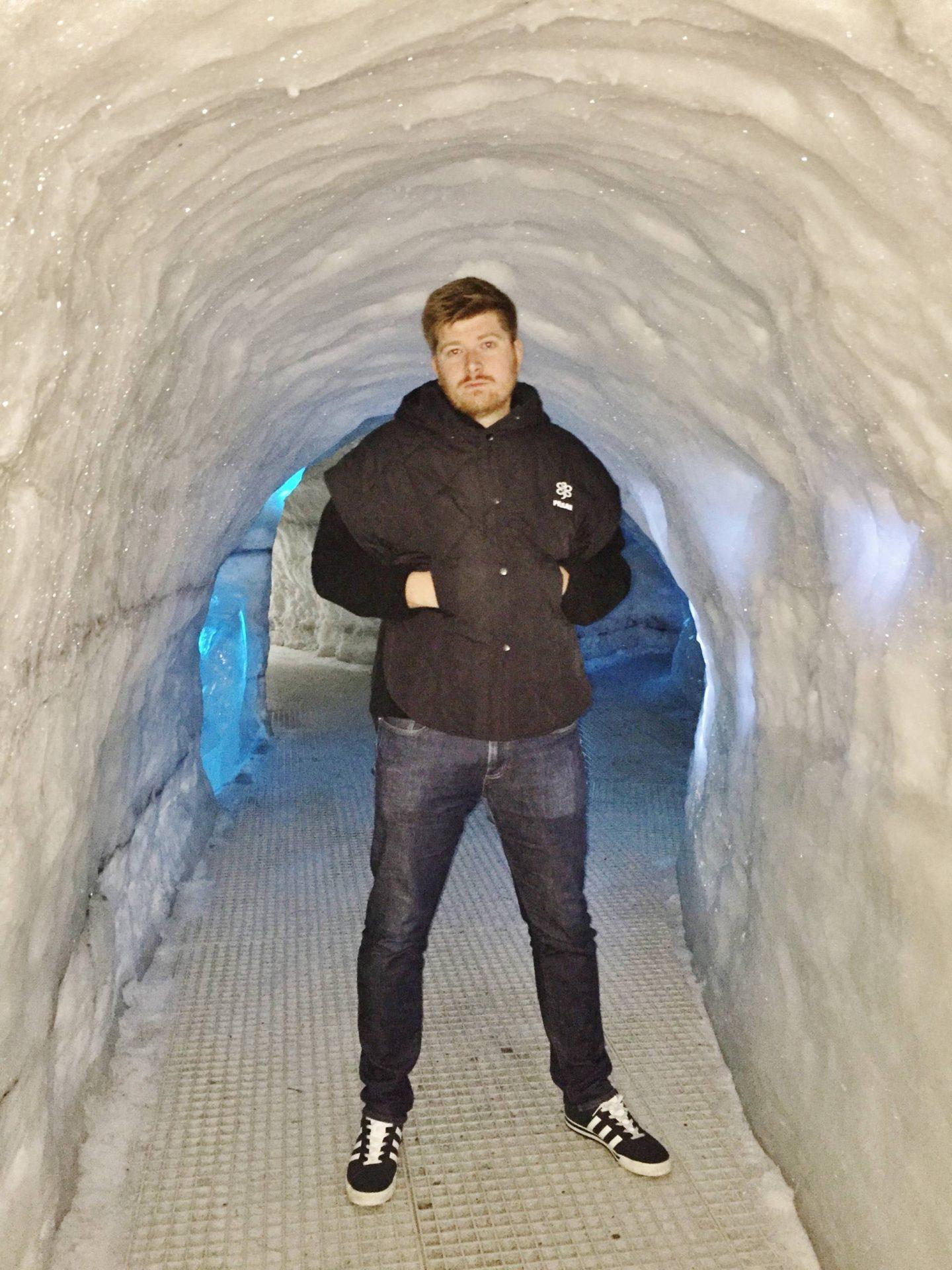 Emma Victoria Stokes Iceland Reykjavik Ice Cave Perlan