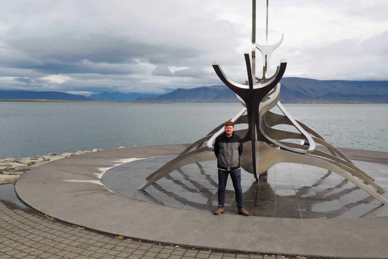 Emma Victoria Stokes Iceland Reykjavik The Sun Voyager Josh