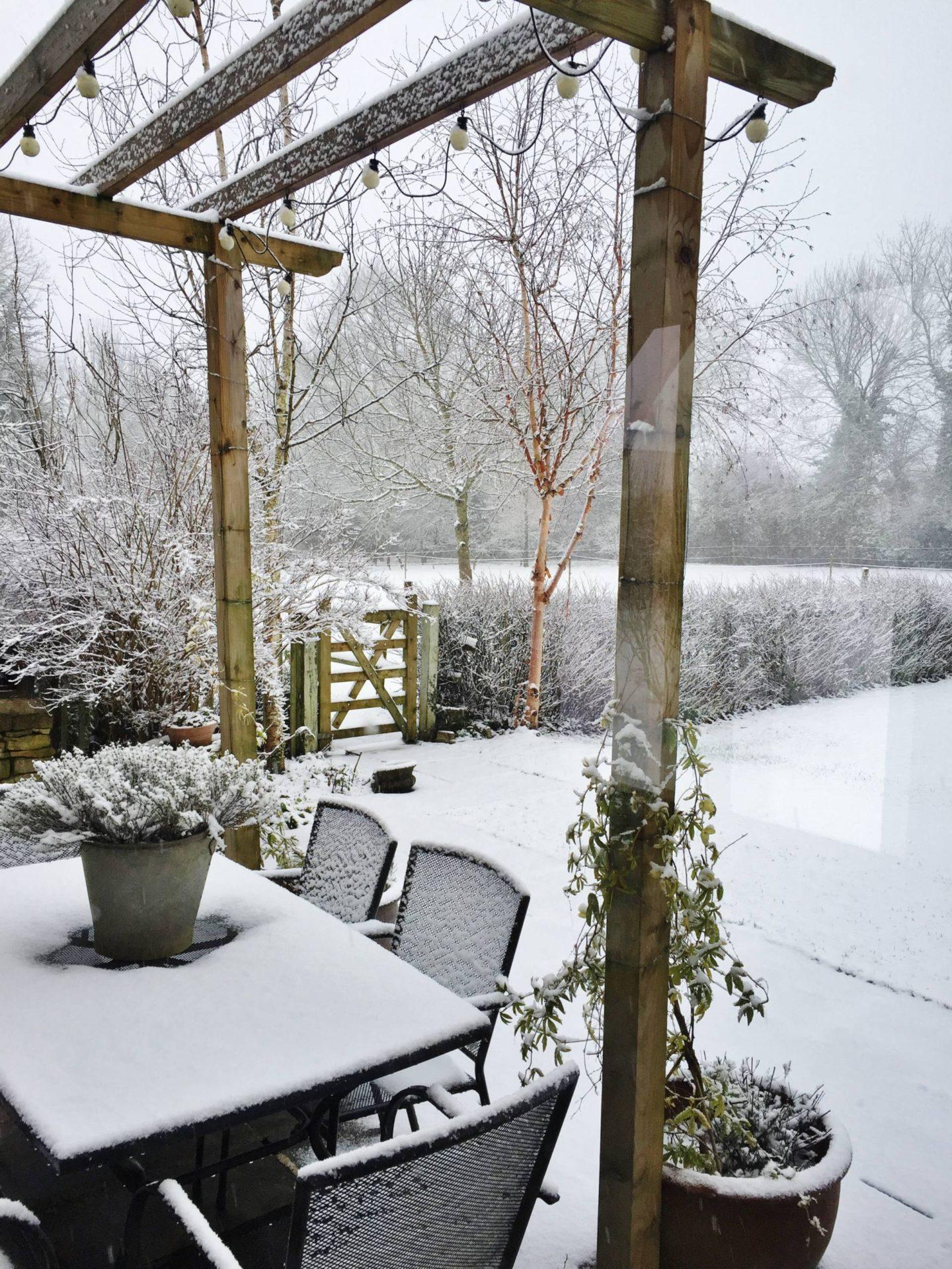 Ashwell Barn Chedworth Snow Airbnb