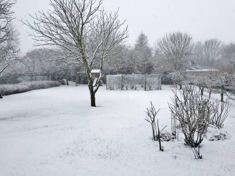 Airbnb Chedworth Ashwell Barn Snow
