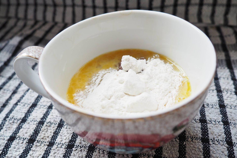 Nutoka Flour Chocolate Mug Cake
