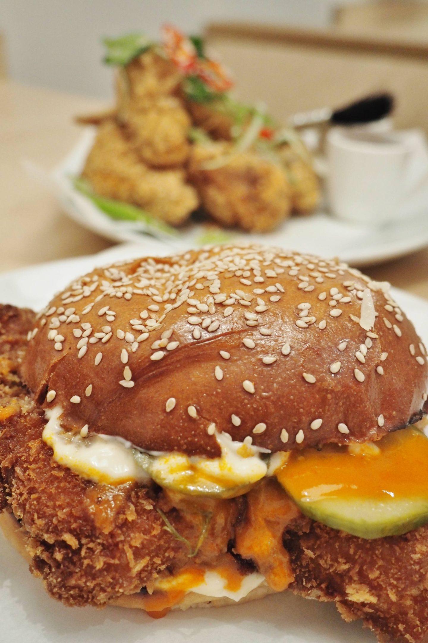 Coqfighter BoxPark Shoreditch Buffalo Burger