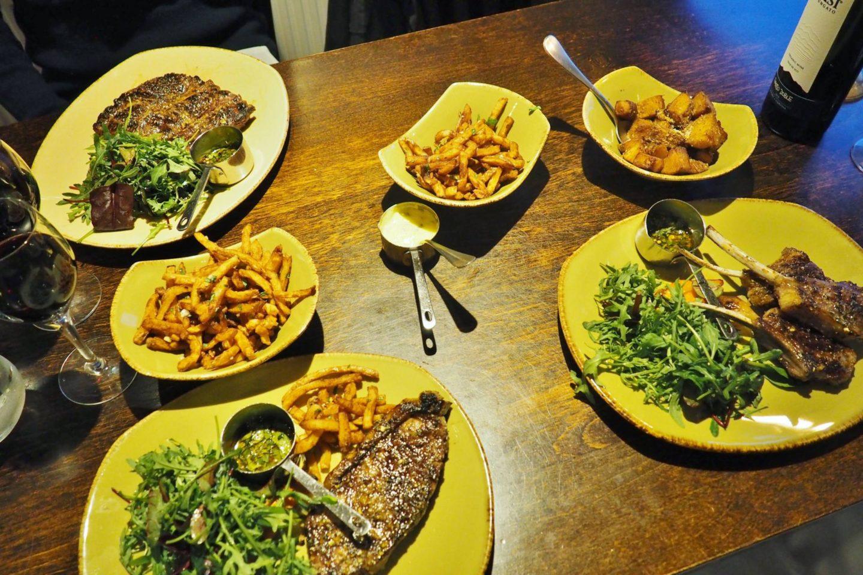 Fiesta Del Asado Bife de chorizo steak Birmingham Fries