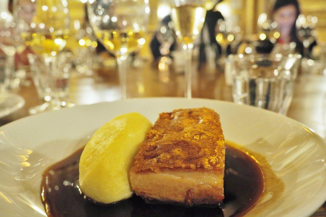 Hotel Du Vin Gloucester Pork Belly Pomme Mousseline