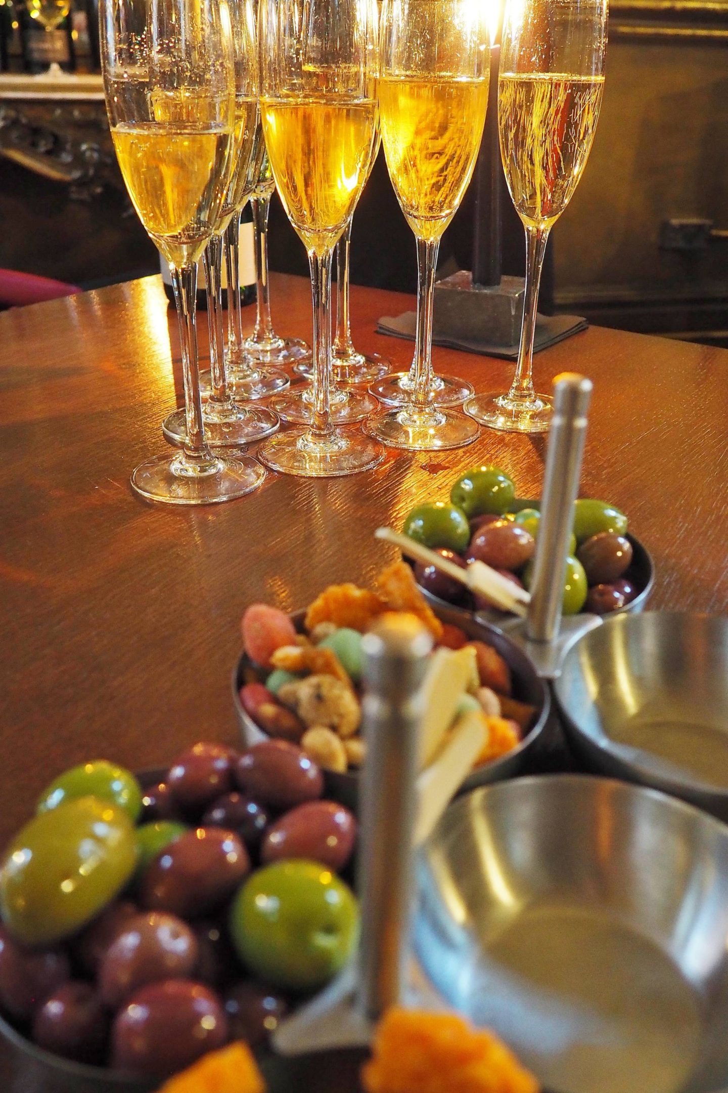 Hotel Du Vin Bubble Lounge Nibbles Wine